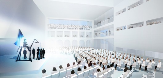 Some of OMA's design concepts. Image © OMA