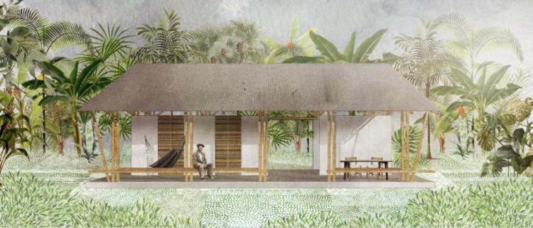 En 'Del Territorio al Habitante', Infonavit invitó a arquitectos a desarrollar proyectos de vivienda de autoproducción en zonas rurales, Rozana Montiel. Image Cortesía de Infonavit