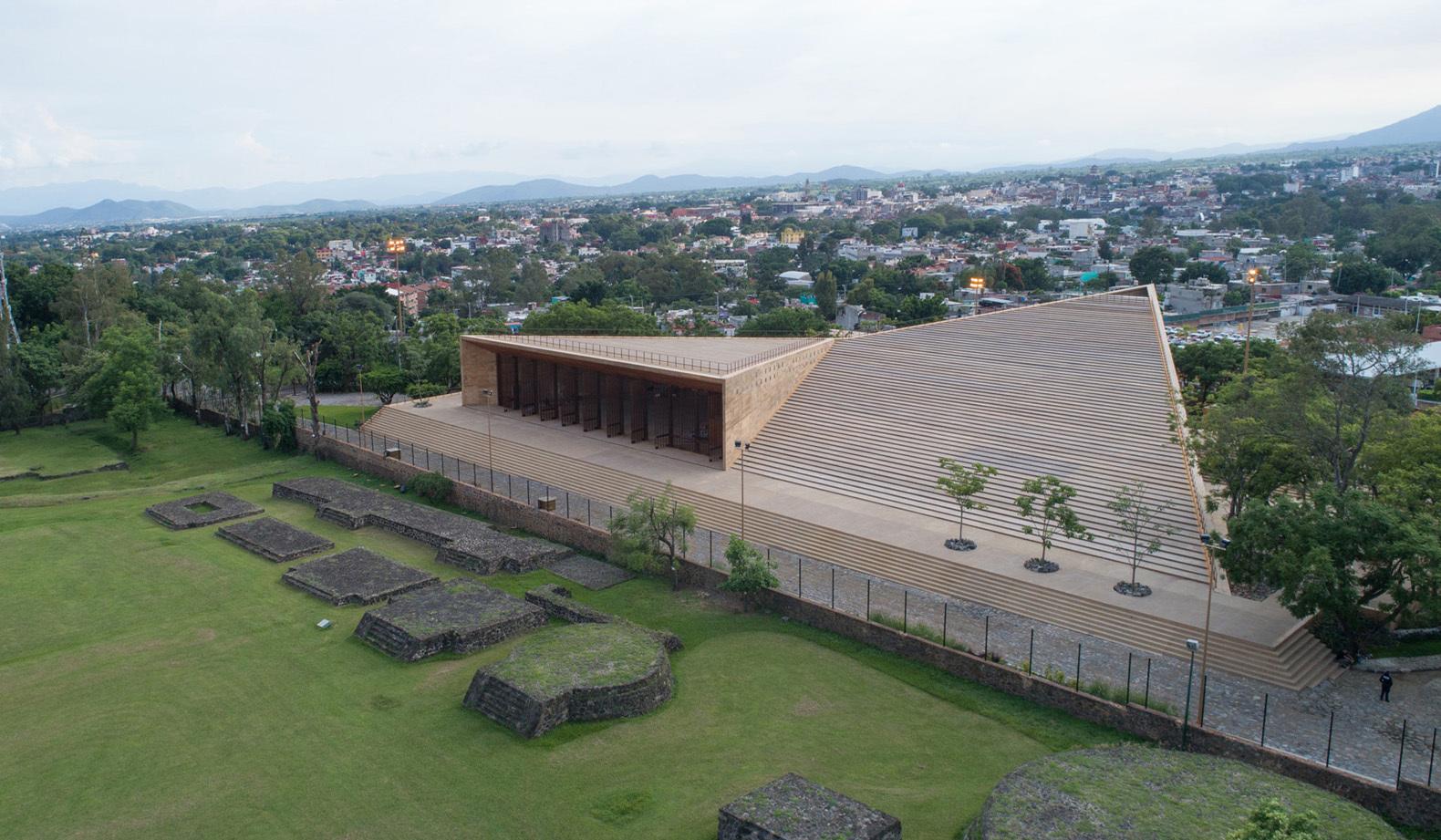 Teopanzolco Cultural Center / Isaac Broid + PRODUCTORA, © Jaime Navarro