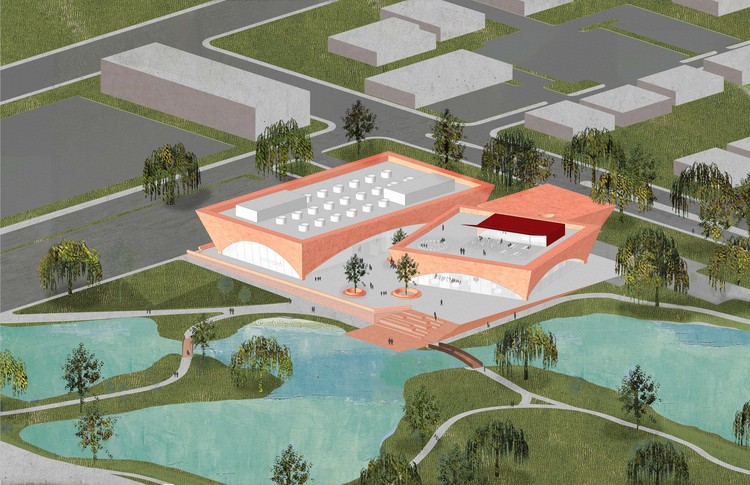 Adjaye Associates Reveals Design of Winter Park Library and Events Center in Florida, Courtesy of Adjaye Associates