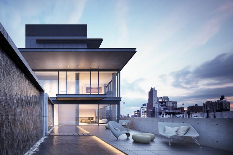 Novas imagens mostram o interior do edifício residencial de Tadao Ando em Nova Iorque, © Noë & Associates with The Boundary