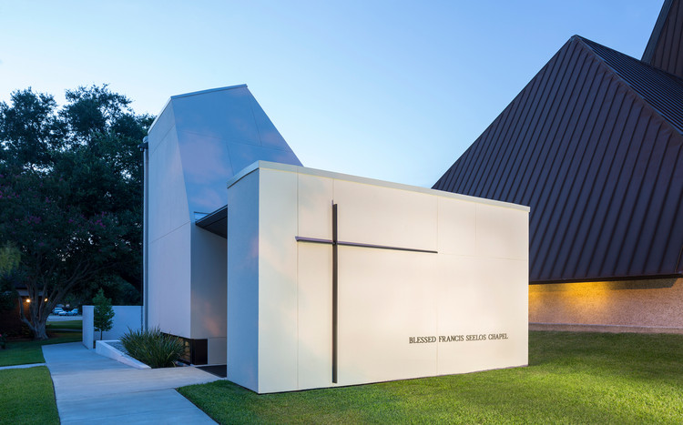 St. Pius Chapel and Prayer Garden / Eskew+Dumez+Ripple, © Will Crocker