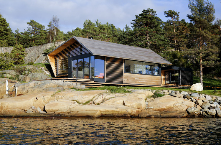Cabin Østfold / Lund+Slaatto Architects, © Marte Garmann