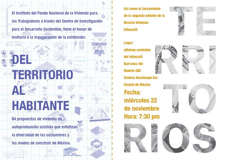 Exhibición 'Del Territorio al Habitante', Cortesía de Infonavit