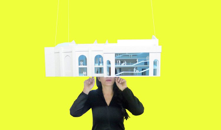 Marina Abramovic Responds to Allegations of Misuse of Funds over Scrapped OMA-designed Museum, Courtesy of OMA