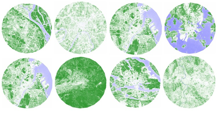Satellite Images Ranks Europe's Greenest (and Not so Green) Cities, Courtesy of Philipp Gärtner