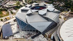 Equipe do Atlanta Falcons tem o primeiro estádio dos EUA a receber a certificação LEED Platinum
