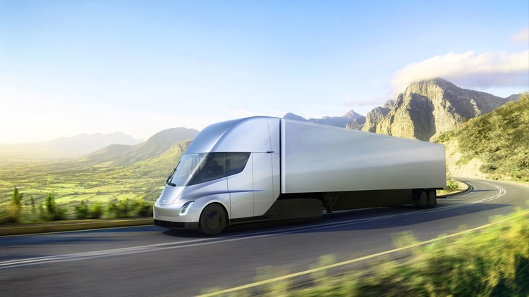Tesla Unveils Electric Cargo Truck that Could Change the Future of Shipping, Courtesy of Tesla