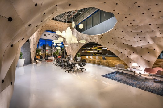 Overall & Display Winner: Fabricwood; Singapore / PRODUCE Workshop. Image Courtesy of World Architecture Festival