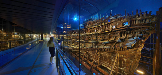 Civic, Culture & Transport Winner: Mary Rose Museum; Portsmouth, United Kingdom / Perkins+Will. Image Courtesy of World Architecture Festival