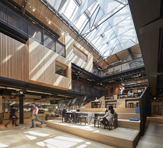 Offices Winner: Airbnb European Headquarters; Dublin, Ireland / Heneghan Peng Architects. Image Courtesy of World Architecture Festival