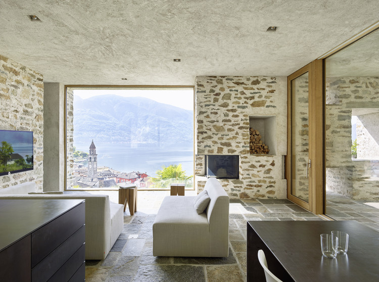 Remodel House in Ascona / Wespi de Meuron Romeo architects, © Hannes Henz