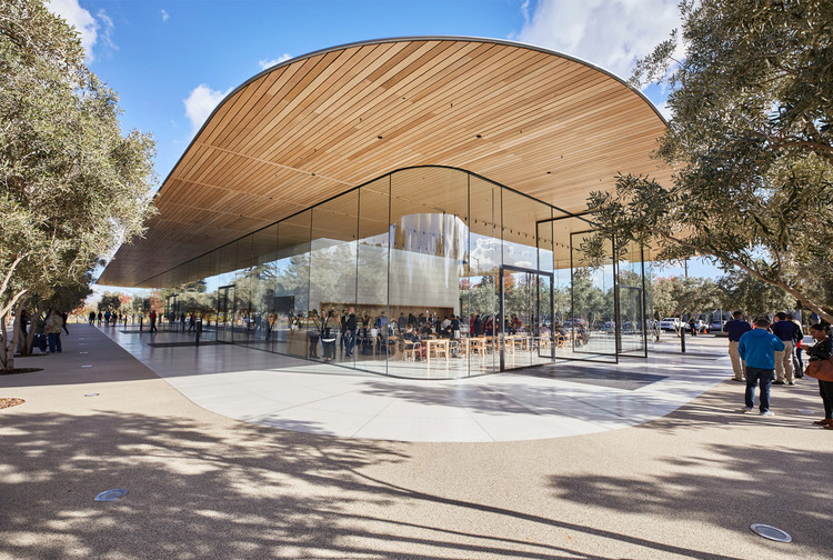 Foster + Partner's Apple Park Visitor's Center Opens to the Public, © Apple