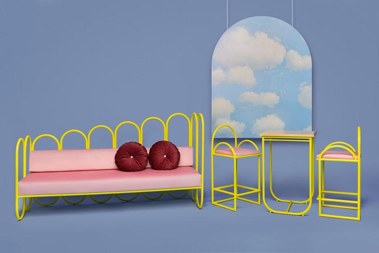 Masquespacio se inspira en el diseño de los años 70 para crear icónica colección de mobiliario , Cortesía de Masquespacio
