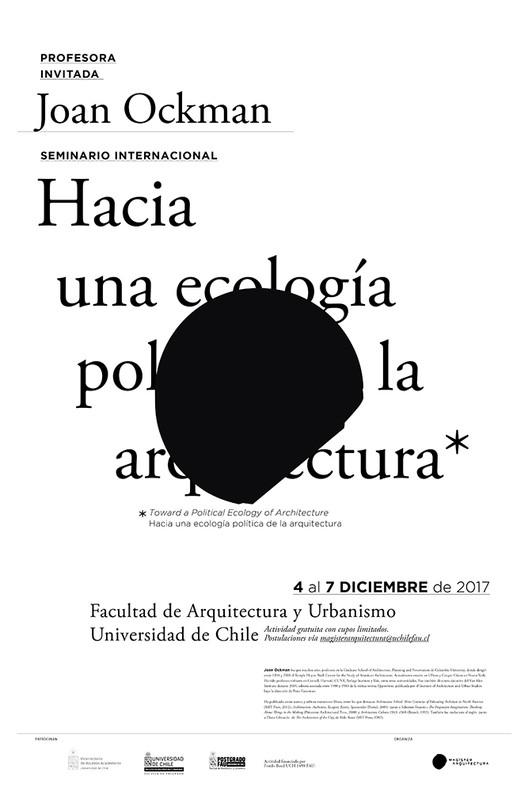Seminario internacional hacia una ecolog a pol tica de la for Hacia una arquitectura