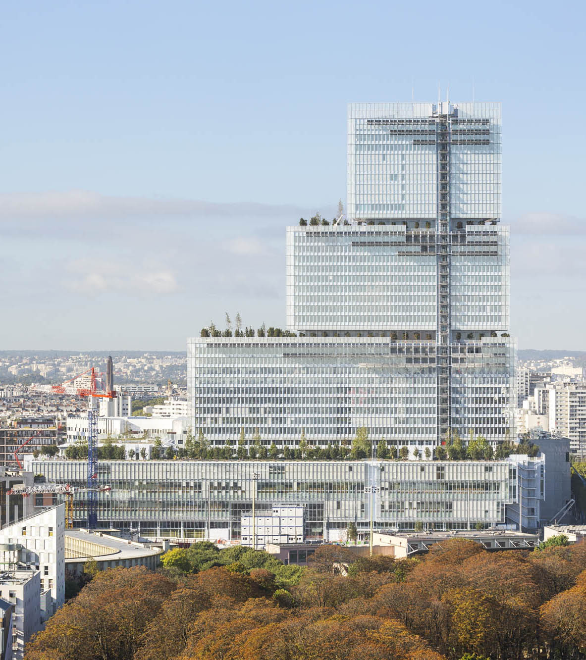 Gallery of paris courthouse renzo piano building - Office tourisme italien a paris ...