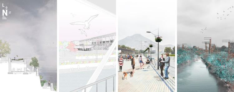 Estos son los ganadores del Concurso de Ideas para el Parque Fluvial Rímac en Lima, Cortesía de LDN