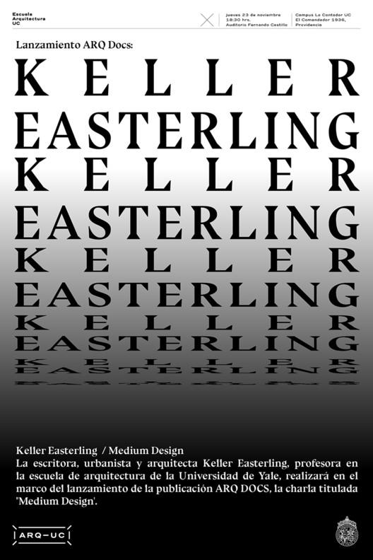 Lanzamiento ARQDOCS: Keller Easterling, Trinidad Sánchez