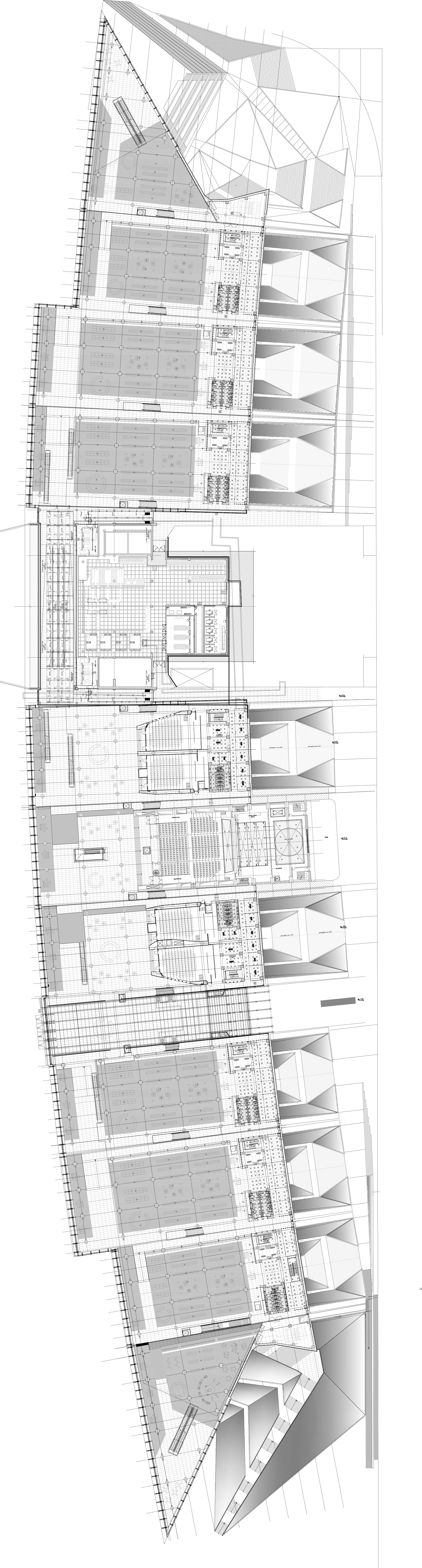 Gallery Of Tehran Book Garden Design Core 4s Architects Urban