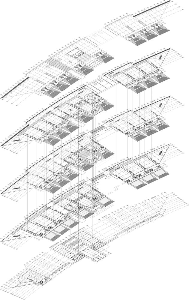 Gallery of tehran book garden design core 4s architects tehran book gardendiagram ccuart Gallery