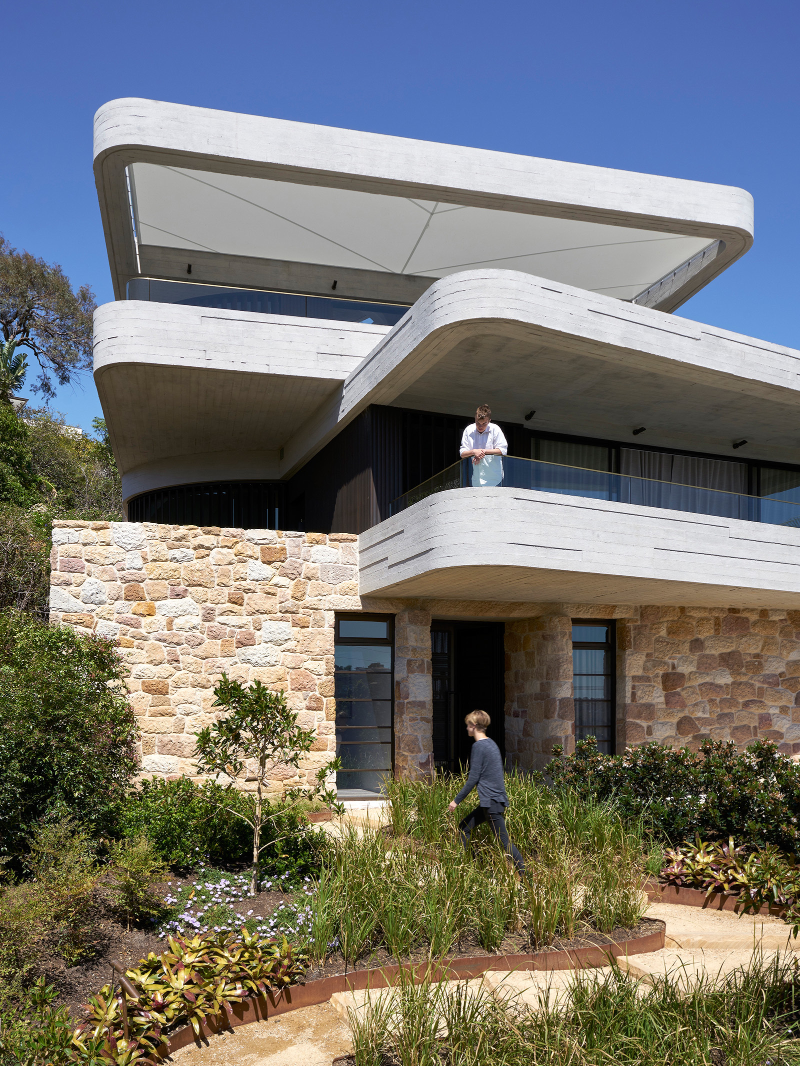 The Books House Luigi Rosselli Archdaily