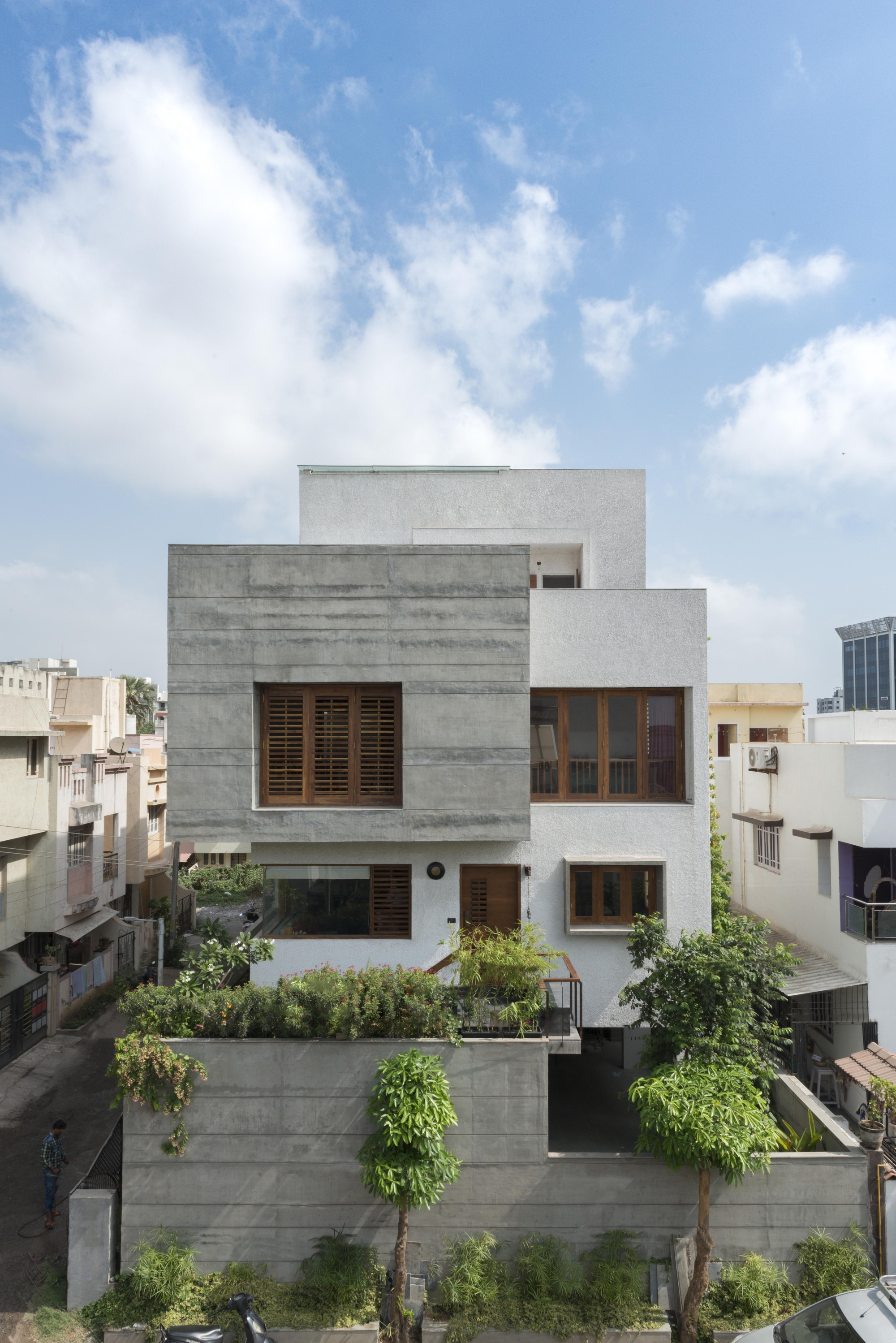 The H Cube House Studio Lagom Archdaily