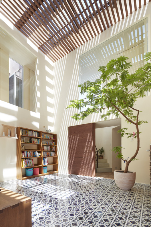 House in Ishikiri / Fujiwaramuro Architects, © Toshiyuki Yano
