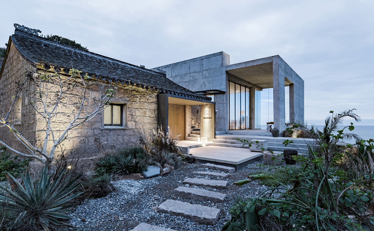 Rural house renovation in zhoushan jianping yang