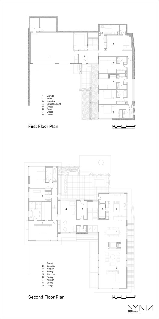 Granite ridge dynia architects archdaily for Granite ridge floor plans