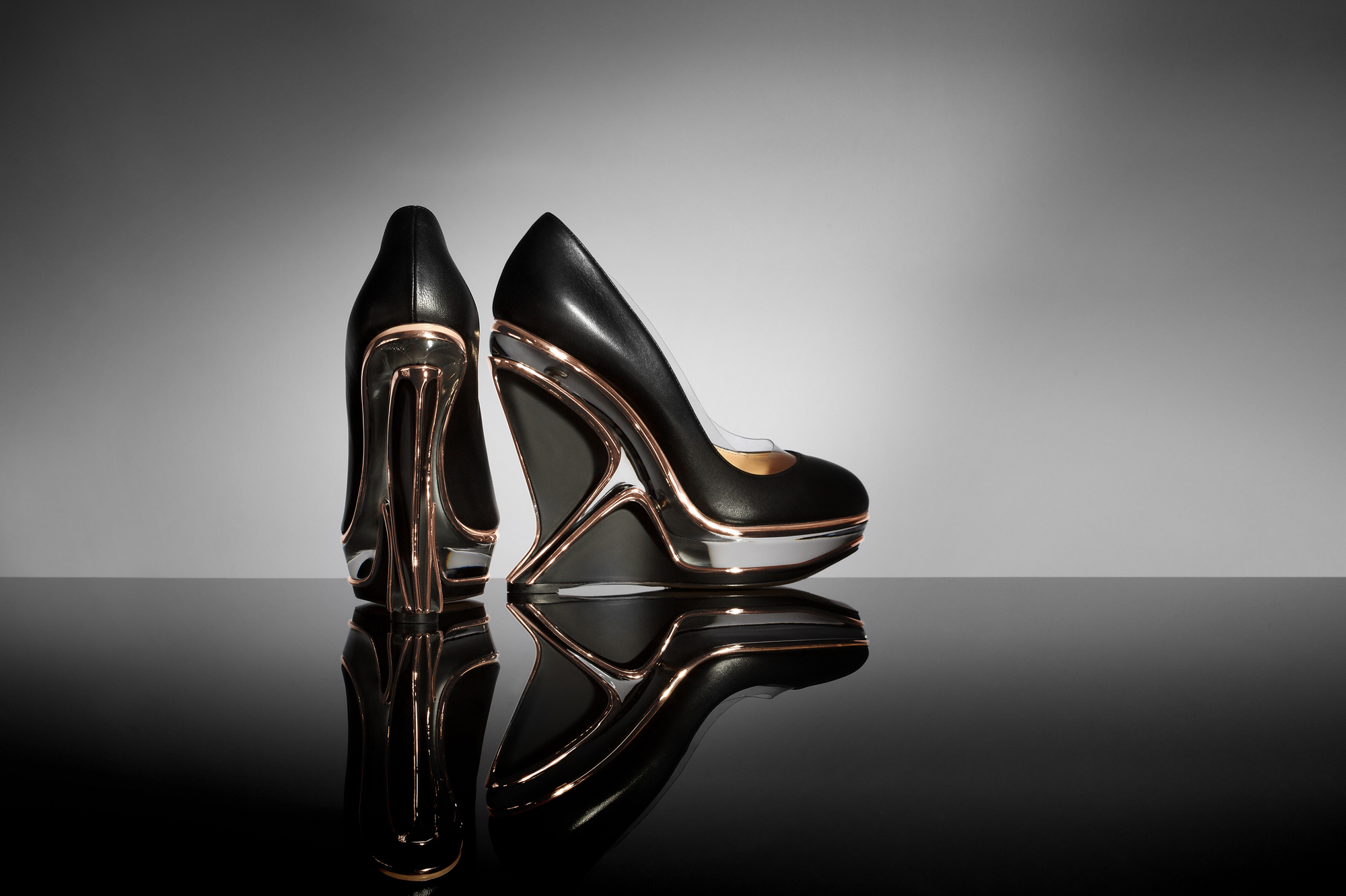 Fashion style Hadid zaha designs shoes for lady