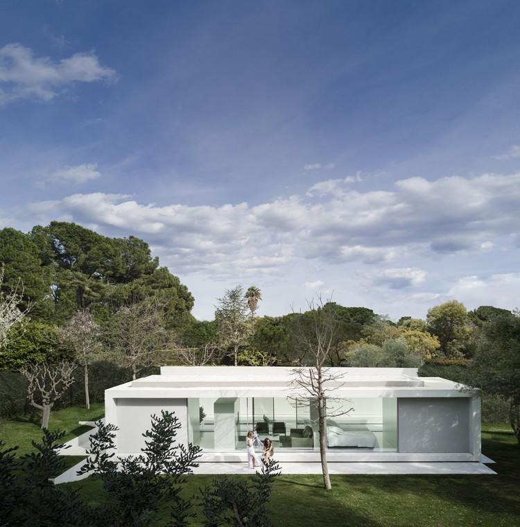 Pavilhão de Convidados / Fran Silvestre Arquitectos, © Fernando Guerra |  FG+SG