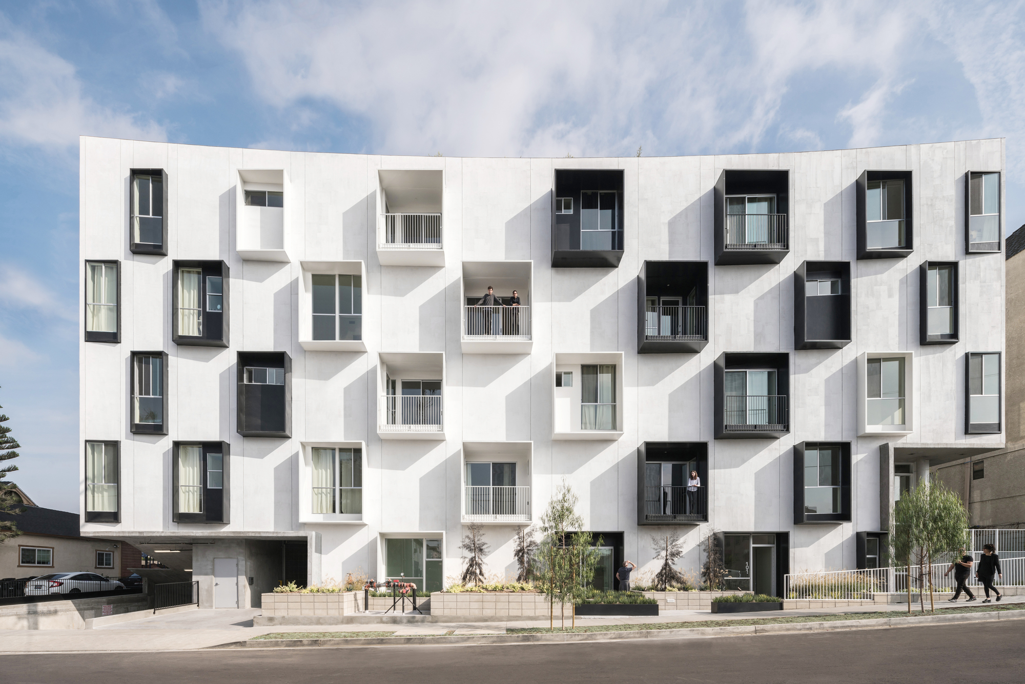 apartment architecture design. Mariposa1038 / Lorcan O\u0027Herlihy Architects Apartment Architecture Design