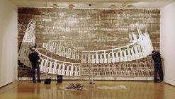 Jaime Franco devela la estructura detrás de toda obra en sus pinturas en barro