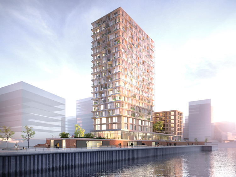 Störmer Murphy and Partners Will Design Germany's First Wooden High-Rise, via Störmer Murphy and Partners
