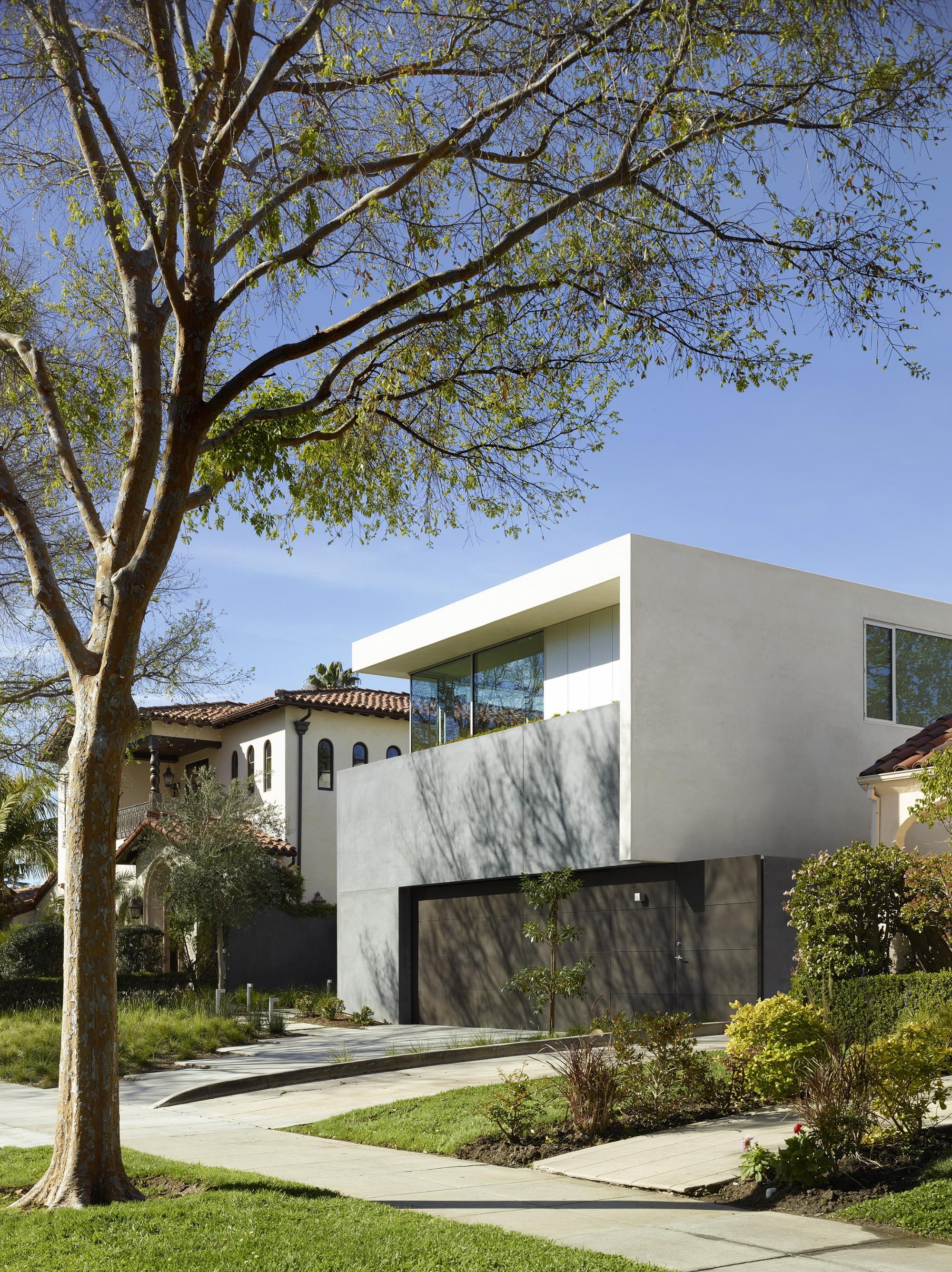 Galer a de crescent drive ehrlich architects 6 - Limposante residence contemporaine de ehrlich architects ...