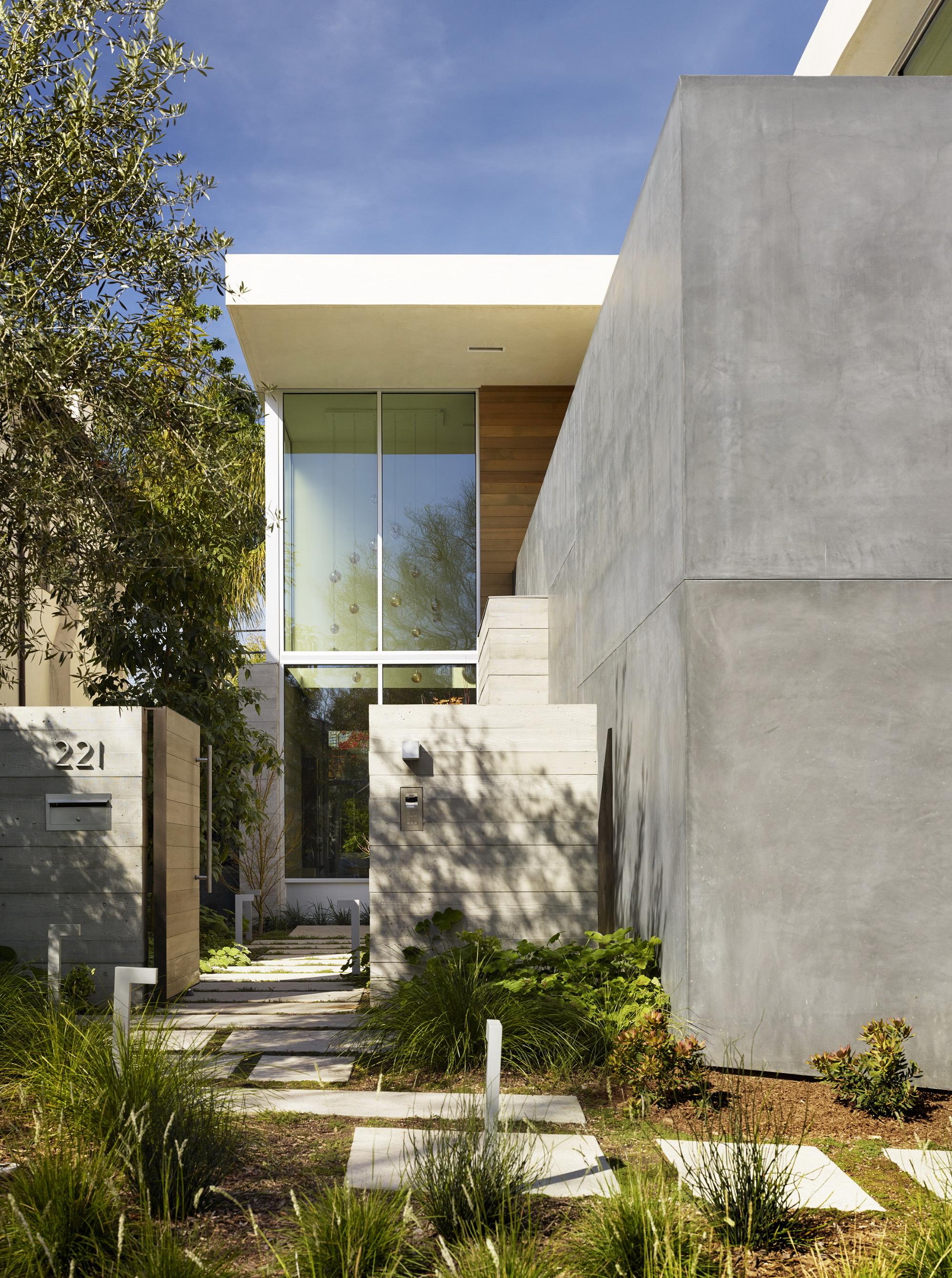 Galer a de crescent drive ehrlich architects 2 - Limposante residence contemporaine de ehrlich architects ...