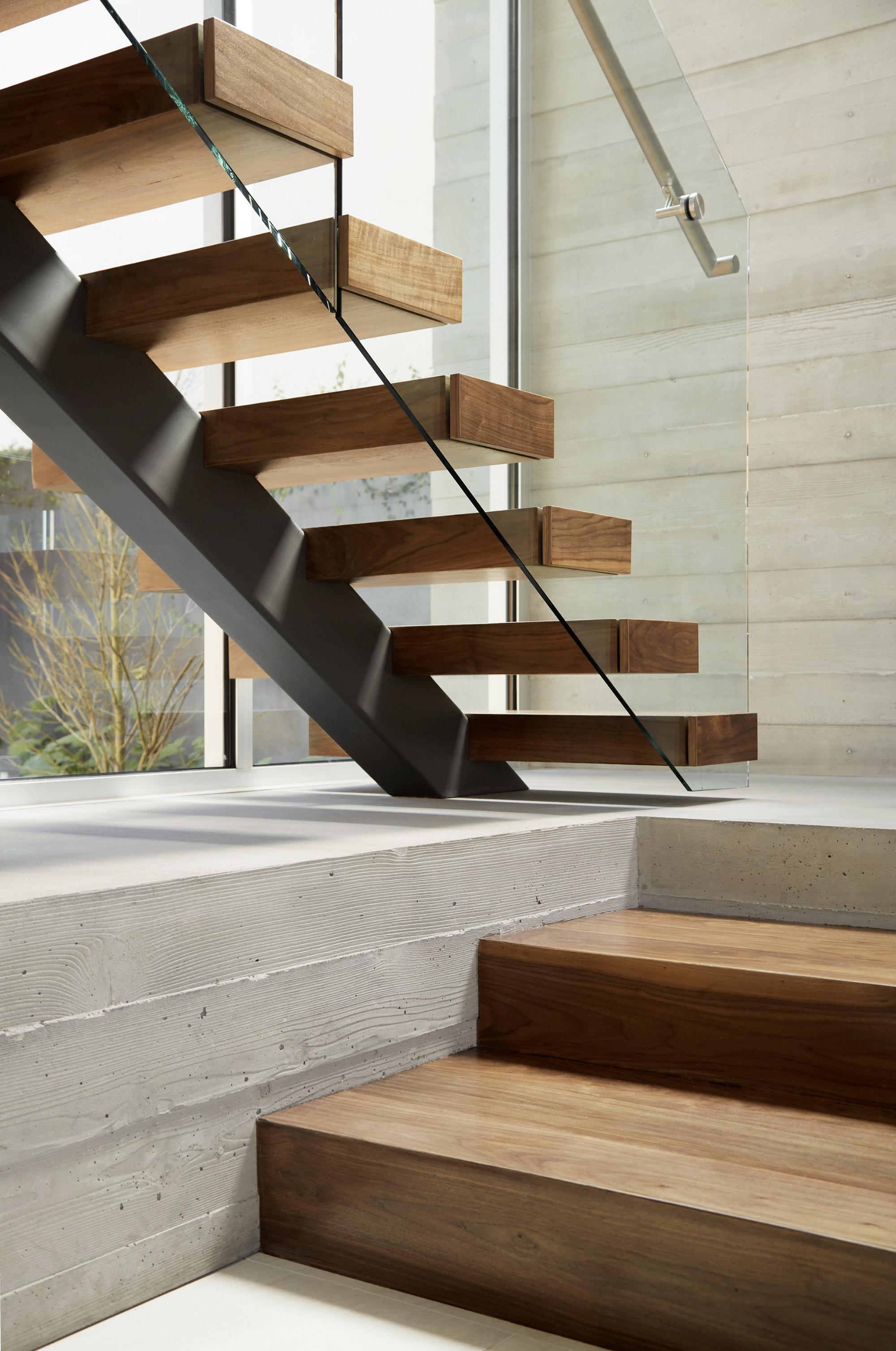 Galer a de crescent drive ehrlich architects 14 - Limposante residence contemporaine de ehrlich architects ...