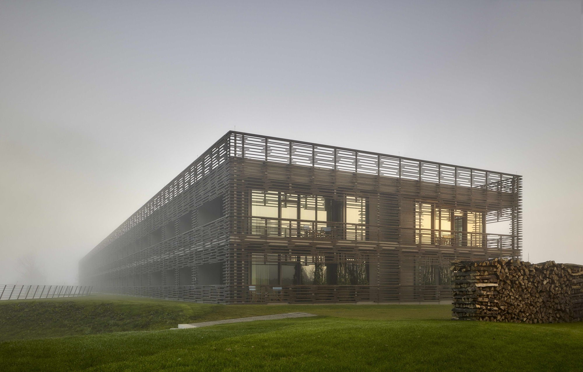 Hotels In Chicago >> Hotel & Spa Seezeitlodge / Graft Architects | ArchDaily
