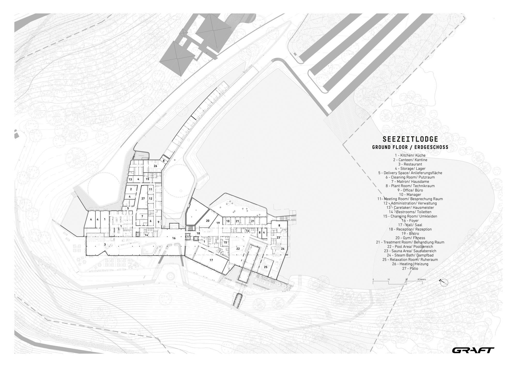 Gallery Of Hotel Spa Seezeitlodge Graft Architects 23