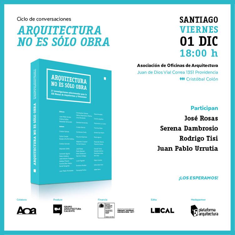 Ciclo de Conversaciones 'Arquitectura no es sólo obra', Cristina Núñez, Local Editores