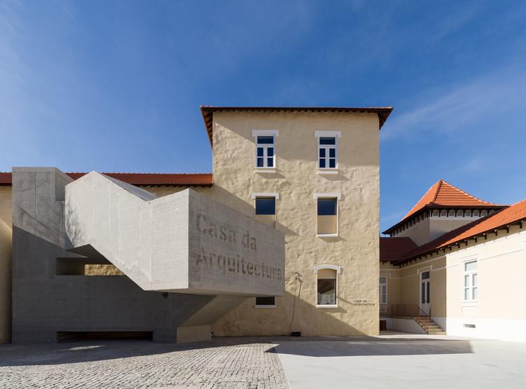 Casa da Arquitectura: assista às conferências de abertura do Centro Português de Arquitectura, © FLAGRANTE