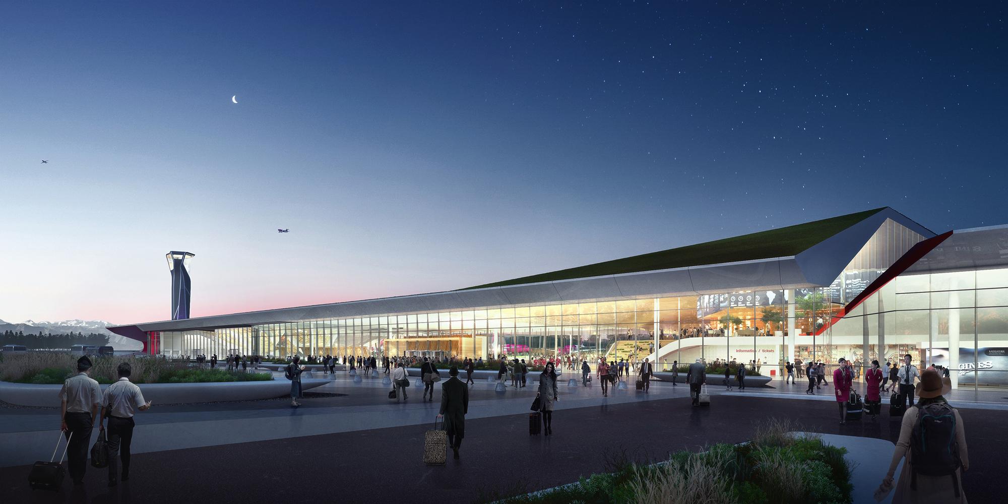 Gallery of Georgia's Kutaisi Airport Taps UNStudio for