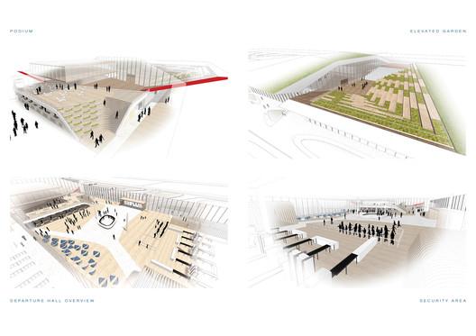 Interior Impressions. Image Courtesy of UNStudio