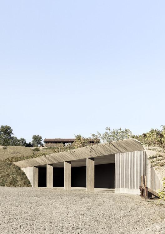 Depósito de maquinaria agrícola / deamicisarchitetti, © Alberto Strada