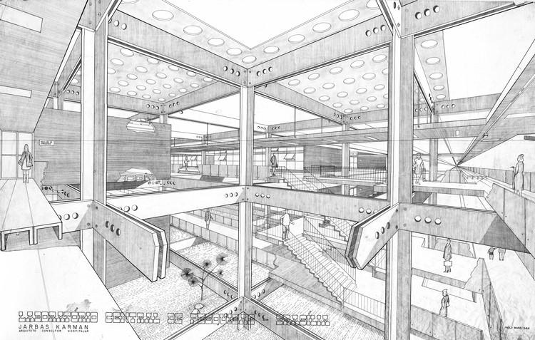 Instituto de Pesquisas Hospitalares lança livro digital sobre arquitetura hospitalar, Laboratório Central de Brasília. Image Cortesia de IPH