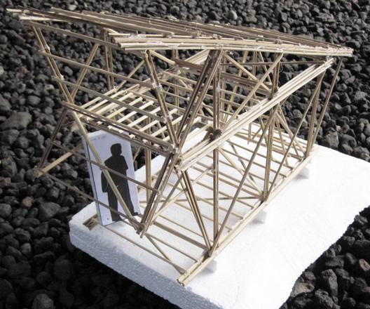 Model. Image Courtesy of IBUKU