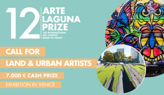 Call for Urban Artists and Land Artists: 12. Arte Laguna Prize, 12 Arte Laguna Prize: open call for artists and designers