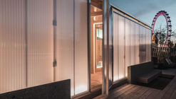 Sauna en la azotea en Londres / Aalto University - School of Arts, Design and Architecture
