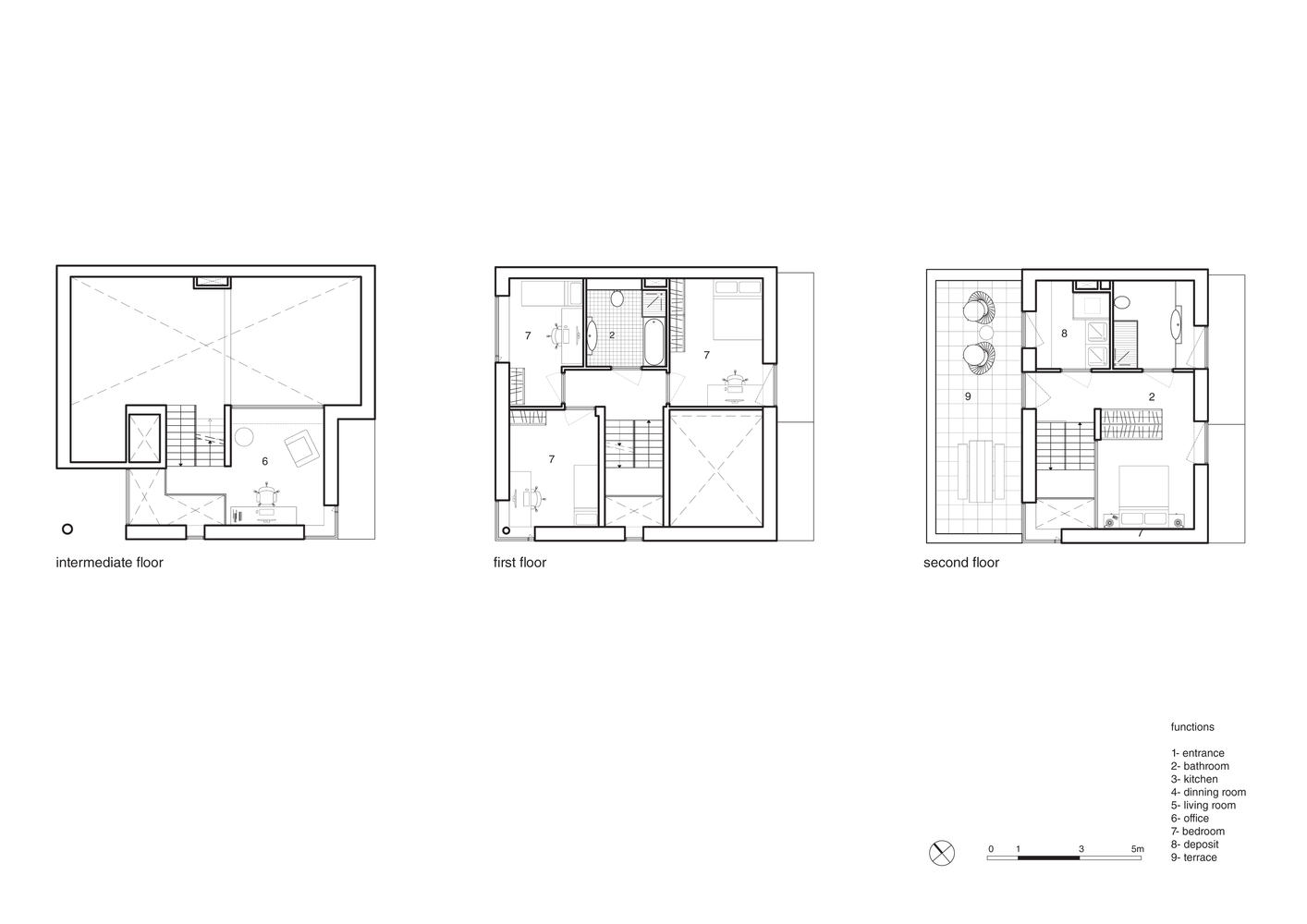 Cube house rotterdam floor plan escortsea for Cube house design layout plan