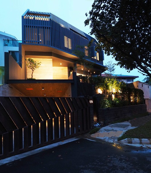 Screen House / Poiesis Architects, © Roland Tan Yeow Teck